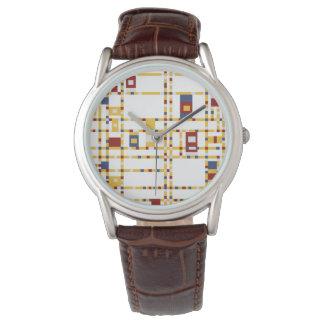 Custom Classic Brown Leather Watch