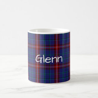 Custom Classic Clan Glenn Tartan Plaid Mug