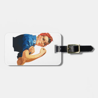 Custom Classic Rosie The Riveter Luggage Tag