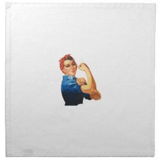 Custom Classic Rosie The Riveter Napkin