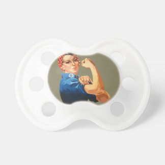 Custom Classic Rosie The Riveter Pacifier