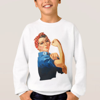Custom Classic Rosie The Riveter Sweatshirt