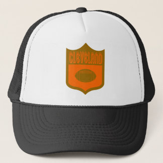 Custom Cleveland Shield Design2 Trucker Hat