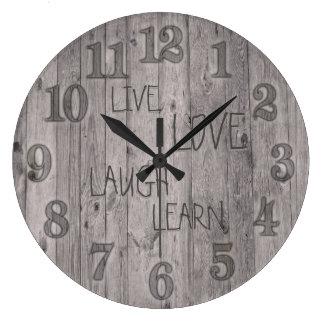Custom Clock Change Words