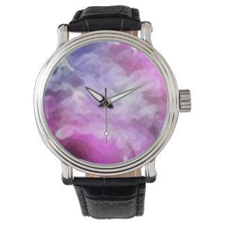 Custom clock fantasy _pink watches
