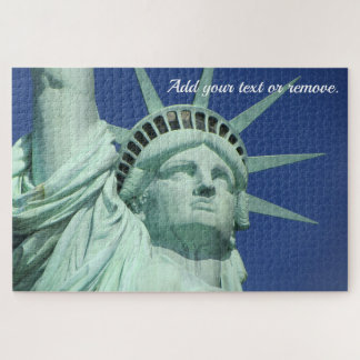 "Custom close up photo, ""Statue of Liberty, NYC: Jigsaw Puzzle"