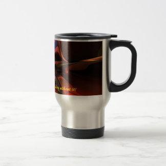 Custom coffee travel mug