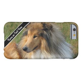 Custom Collie Dog Resting Photo Phone Case
