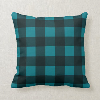 Custom Color 90's Plaid Pillow