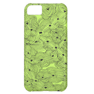 Custom Color Abstract Ant Farm iPhone 5C Cases
