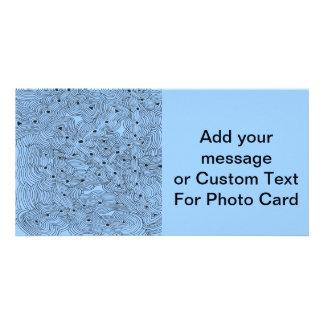 Custom Color Ant Farm Original Abstract Design Photo Card
