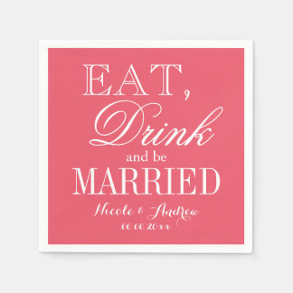 Custom color background paper wedding napkins disposable napkin