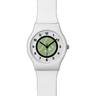 Custom Color Band Tennis Ball Watch
