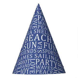 Custom Color Beach party hat
