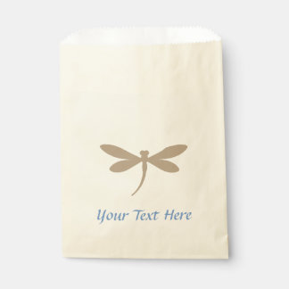 Custom Color Dragonfly Favor Bags