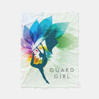 Custom Color Guard Fleece Throw