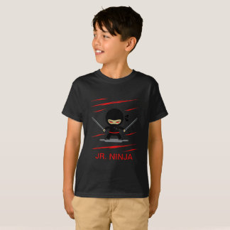 Custom Color Junior Ninja/Samurai Kid's T-Shirt