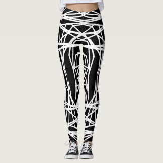 Custom-Color KINETIC ALGORITHM Leggings