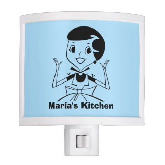 Custom Color Personalized Kitchen Night Light