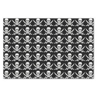 Custom Color Pirate/Skulls Black Tissue Paper