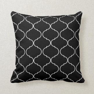 Custom Color Quatrefoil Throw Pillow