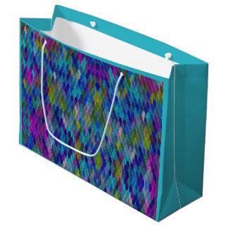 Custom Color Rainbow Magic Mermaid Scale Gift Bag