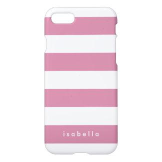 Custom Color Stripes iPhone 7 Case