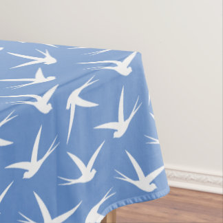 Custom Color Swallow Flying Bird Pattern Tablecloth