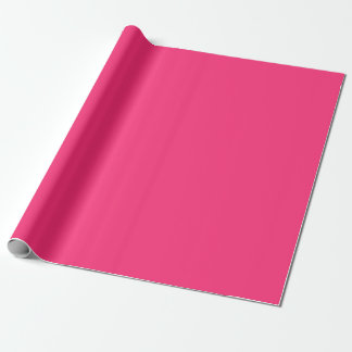 Custom colored Modest Pink Wrapping Paper
