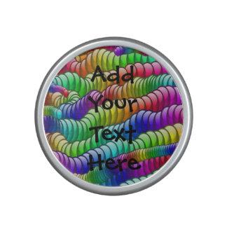 Custom Colorful Artistic Bumpster Speaker