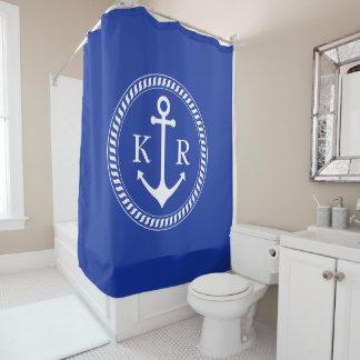 Custom Colour and Monogram Ship Anchor