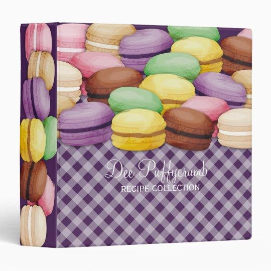 Custom colour macaroon meringue cookies bakery vinyl binder