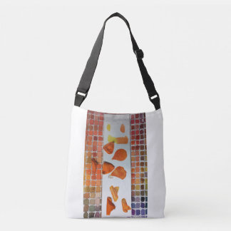Custom Colour Study All-Over-Print Cross Body Bag