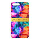 Custom Colourful Abstract Background iPhone 8 Plus/7 Plus Case