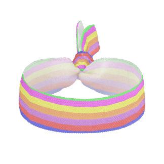 Custom Colourful Stripes Hair Tie