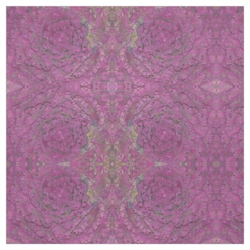 Custom Combed Cotton Fabric with purple cabbage