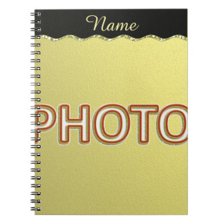 Custom composition with your photo notebook