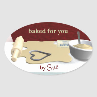 Custom Cookie Baking Stickers