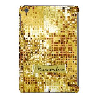 Custom Cool Gold Sequins Look Ipad Case iPad Mini Retina Cases