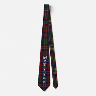 Custom Cork County Irish Tartan Tie