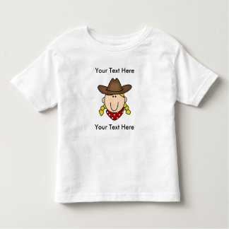 CUSTOM COW GIRL BLOND T-Shirt