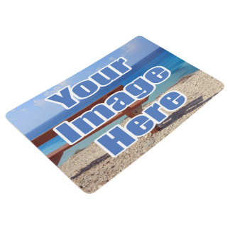 Custom Create Your Own One of a Kind Personalized Floor Mat