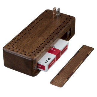 Custom Cribbage Board Walnut Cribbage Board