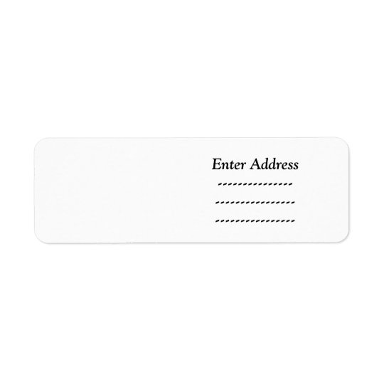 Custom Customizable Sticker label Lighthouse Route Return Address Label
