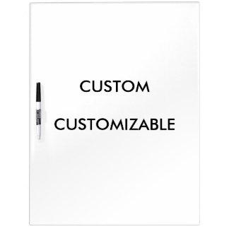 Custom Customize Customizable Blank Dry Erase White Board