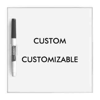Custom Customize Customizable Blank Dry-Erase Whiteboard