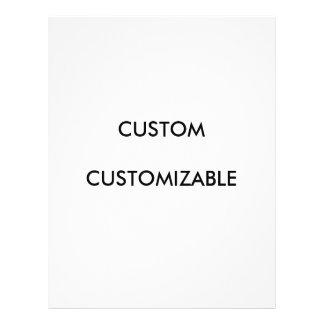Custom Customize Customizable Blank Full Color Flyer