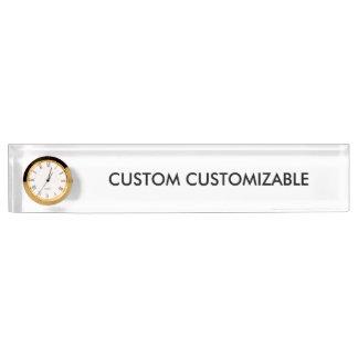 Custom Customize Customizable Blank Name Plate