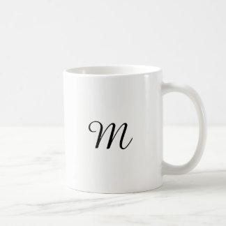 CUSTOM CUSTOMIZE CUSTOMIZABLE MONOGRAM COFFEE MUG