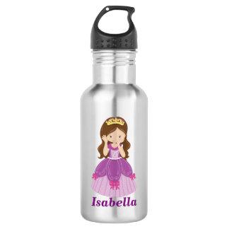 Custom Cute Princess Water Bottle, Stainless Steel 532 Ml Water Bottle